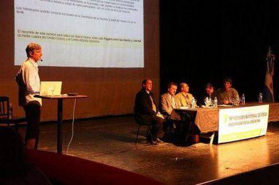 Premio Nóbel abrió reunión nacional de físicos