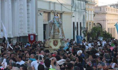 En honor a la patrona de la ciudad, una multitud participó de las celebraciones