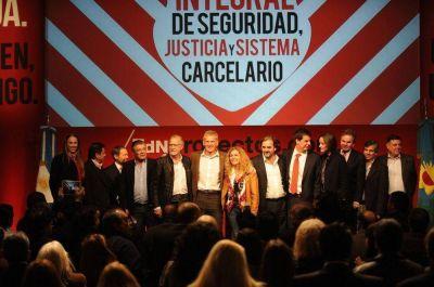 Con críticas a Insaurralde y Tigre, De Narváez reafirmó sus preceptos de Seguridad