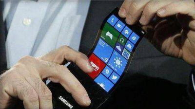 Samsung presentará un teléfono con pantalla curva