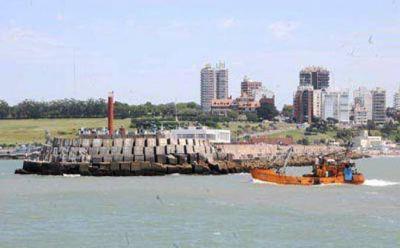 El dragado permitirá extraer más de 1 millón de metros cúbicos de arena