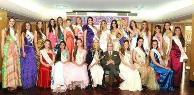 Reinas provinciales imprimieron su belleza en la visita a Diario Pregón