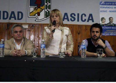 El PJ inició su campaña en la Unidad Básica de Pico
