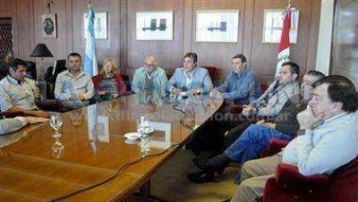 """Castellano afirmó que """"el nuevo acueducto para Rafaela no ha empezado"""""""