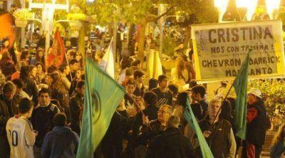 Ecologistas se manifestaron contra el fracking en Ciudad