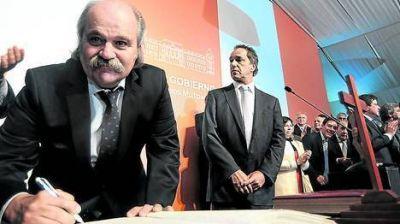 Scioli elogió a Granados y pidió más rigor contra la delincuencia