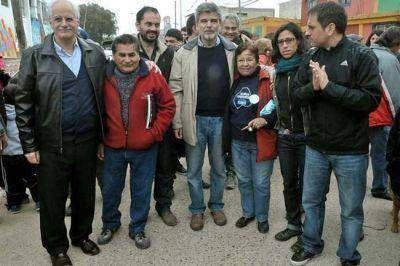 Filmus, Cabandi� y Taiana reclamaron la urbanizaci�n de la Villa 31
