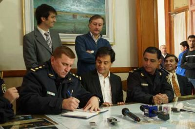 Asumió el comisario Claudio Cheverry al frente de la Policía Comunal de Chivilcoy