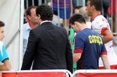 Mala noticia: Lionel Messi está desgarrado y no podrá jugar con la Argentina