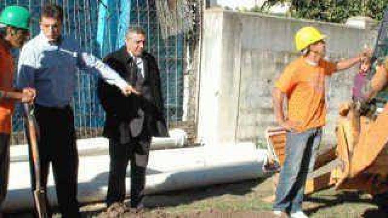 Junto al intendente Zamora Massa encabezó recorrida por las obras cloacales en Don Torcuato