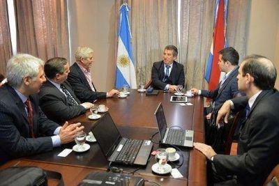 Telefónica le presentó a Urribarri un plan de inversiones