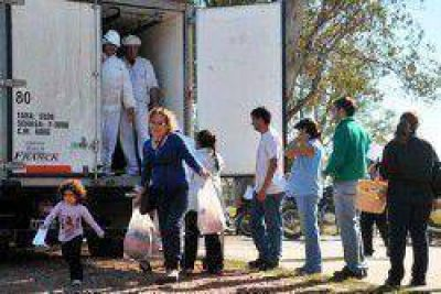 Dos nuevos operativos de Carne para Todos en Sáenz Peña y Fontana