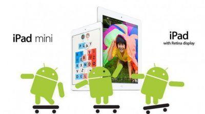 Android consiguió finalmente superar al iPad