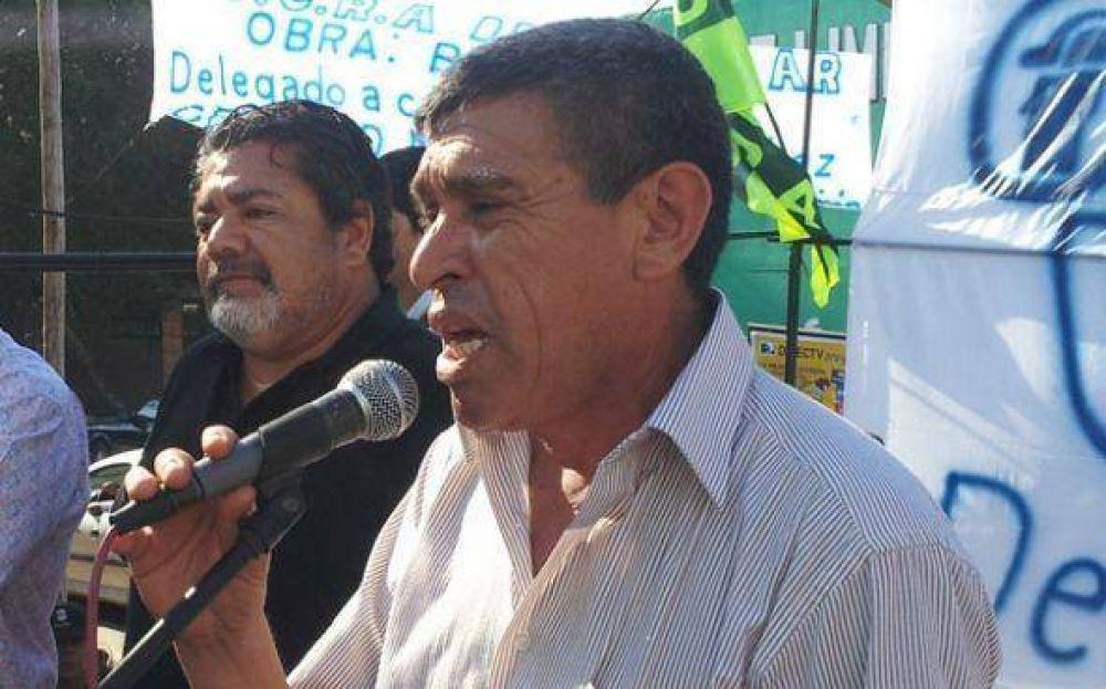 """La UOCRA llevará a la justicia a empresario que los trató de """"coimeros"""""""