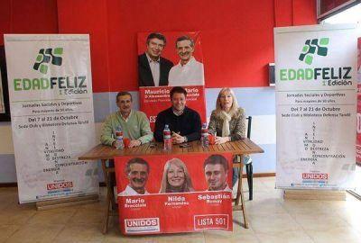 """Unidos por Tandil presentó los Juegos """"Edad Feliz 2013"""""""