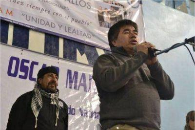 "Tapia: ""Ojalá podamos llegar al 27 sin chicana política"""