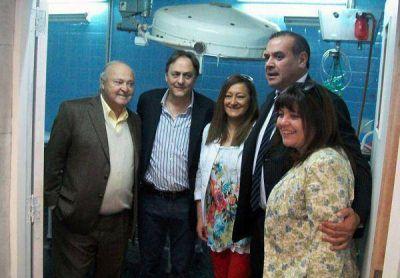 Inauguraron refacciones en el hospital Wenceslao Gallardo de Palpalá