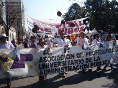 Profesionales de Jujuy rechazaron la propuesta del gobierno y realizarán nuevamente medidas de fuerza