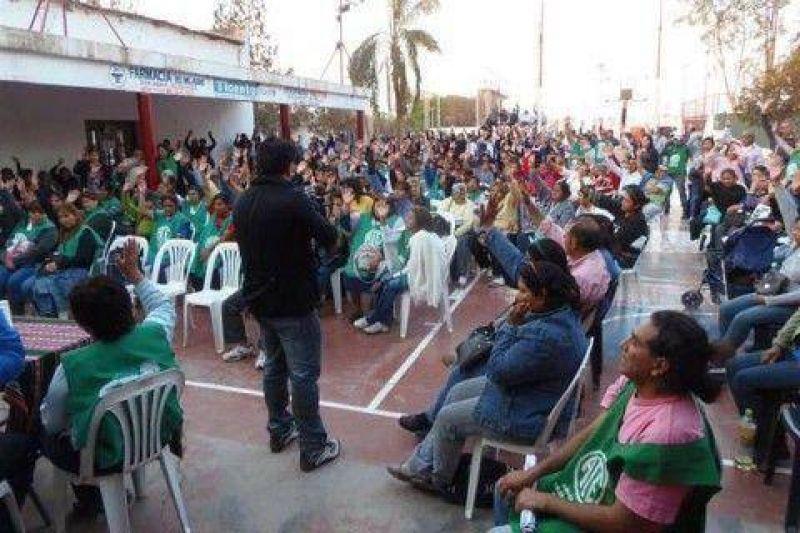 Afiliados de ATE de San Pedro solicitan la Intervención de la Seccional