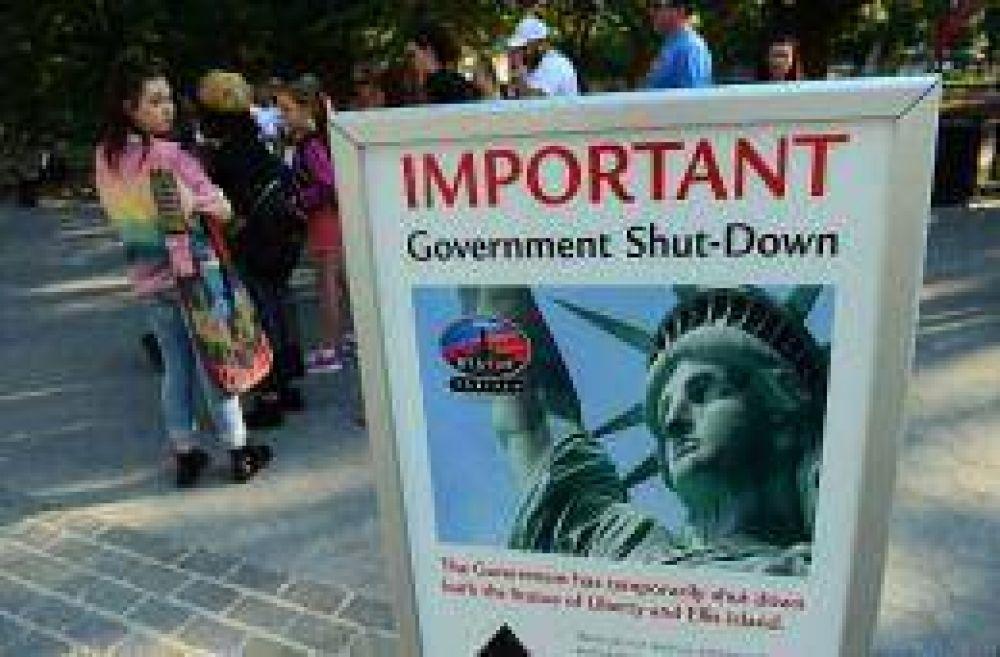 El gobierno de Estados Unidos se sume en una parálisis administrativa
