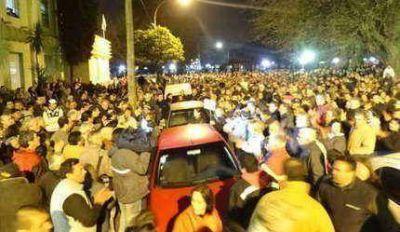 Masiva marcha contra la inseguridad y un fuerte reclamo a las autoridades