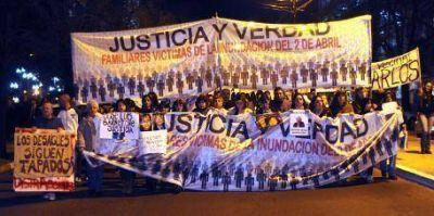 La Plata vuelve a marchar a 6 meses de la trágica inundación