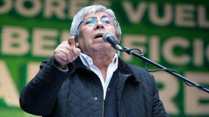 """Ahora """"el PJ es un vacío total"""", criticó Hugo Moyano"""