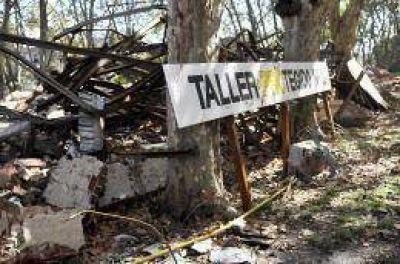 Confirman la presencia de residuos tóxicos en los escombros en el Borda