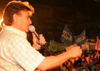 Guti�rrez: 'Queremos un Quilmes que crezca con equidad y con justicia y paz'