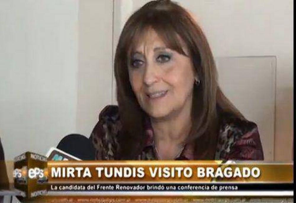 Mirta Tundis estuvo en el local de Vicente Gatica