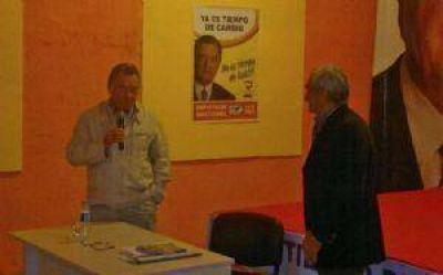 Barrionuevo comenz� a debatir su plan de gobierno para el 2015
