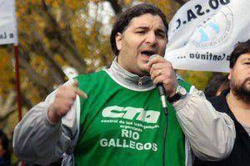 Alejandro Garz�n (ATE-CTA) vuelve a Santa Cruz como impulsor de un movimiento pol�tico-sindical