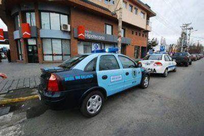 Evacuaron el Banco Hipotecario