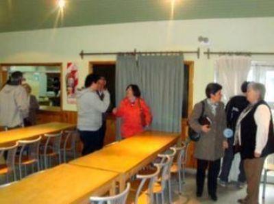 El Frente Progresista visit� el Centro de Jubilados