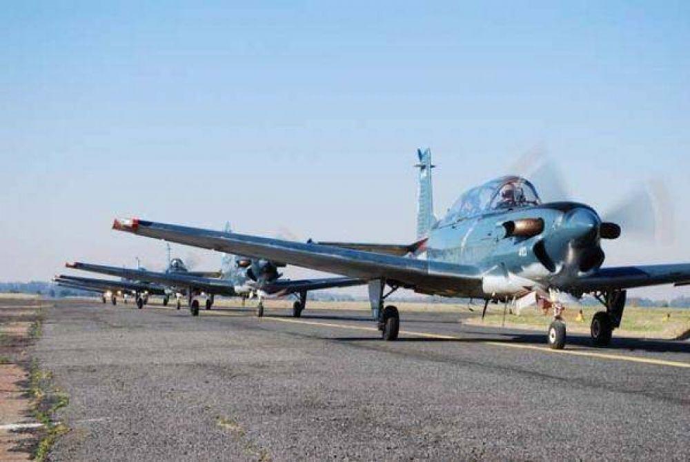La Aviación Naval arribó a Tierra del Fuego