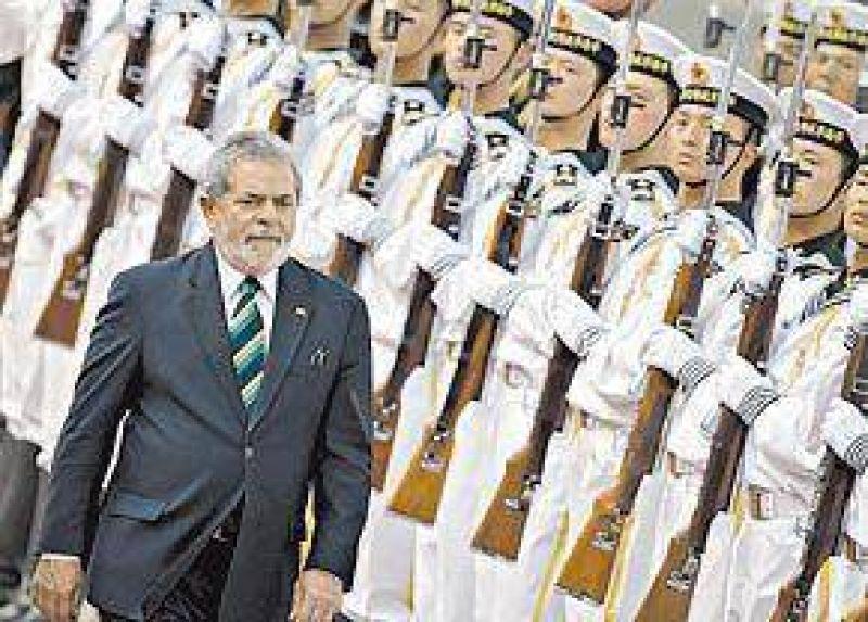"""Lula asegur� que """"no hay tercer mandato"""" y apoy� a su candidata"""