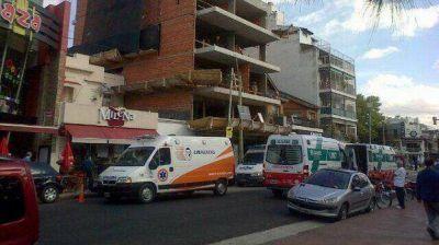 Villa Devoto: Seis obreros resultaron heridos al derrumbarse una obra