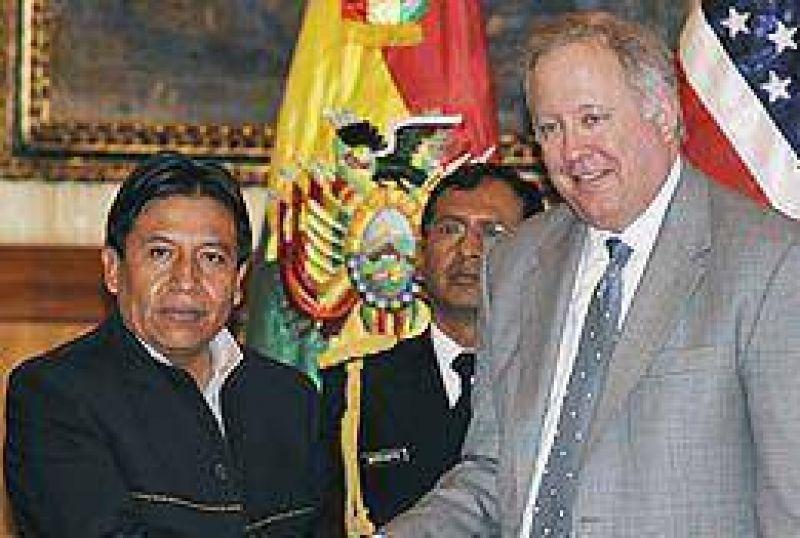 Bolivia y EEUU intentan iniciar una nueva era de relaci�n bilateral