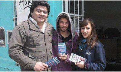 Miguel Gamboa salió a mostrar sus propuestas por la ciudad