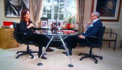 Rial entrevistó a Cristina Kirchner: cuándo se verá la segunda parte