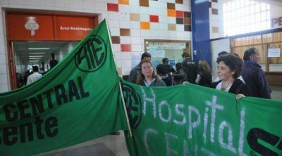 Asambleas y carpas para protestar por la salud pública