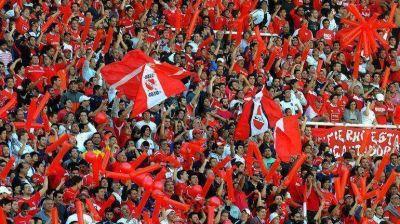 Violencia en el fútbol: detienen a más de 30 barras de Independiente y suspenden el partido