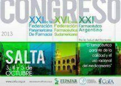 Salta es sede del XXI Congreso Farmacéutico Argentino