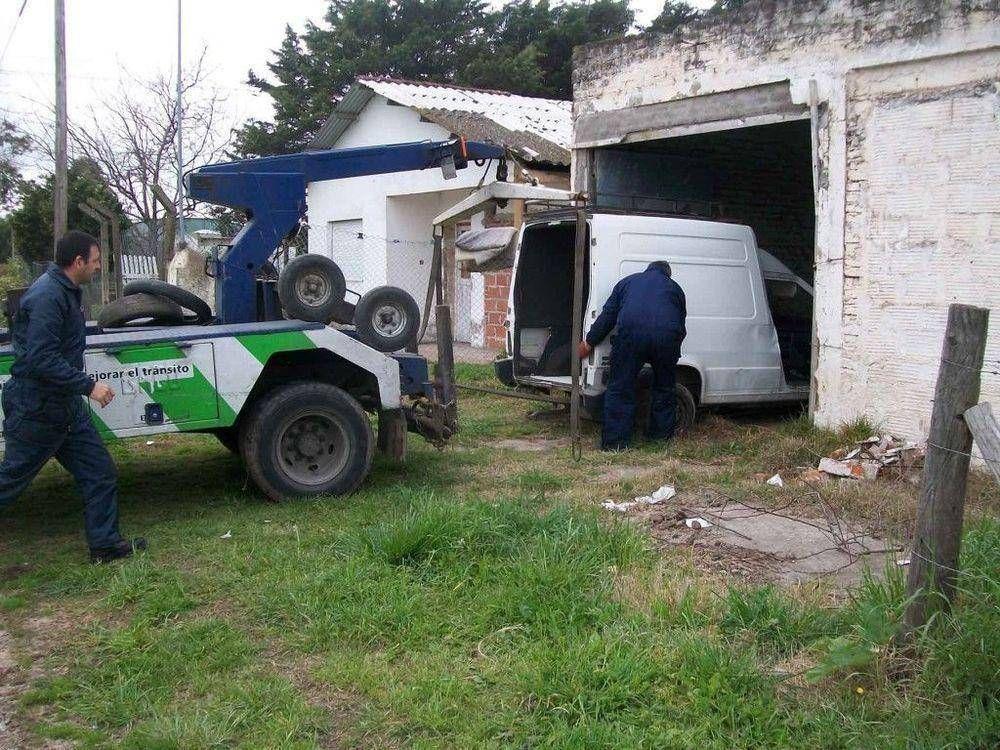 Clausuraron galpón que funcionaba como desarmadero en Parque Palermo