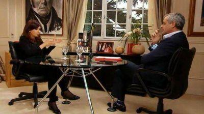 "Cristina: ""Si Massa no es opositor, yo soy la Mona Lisa"""