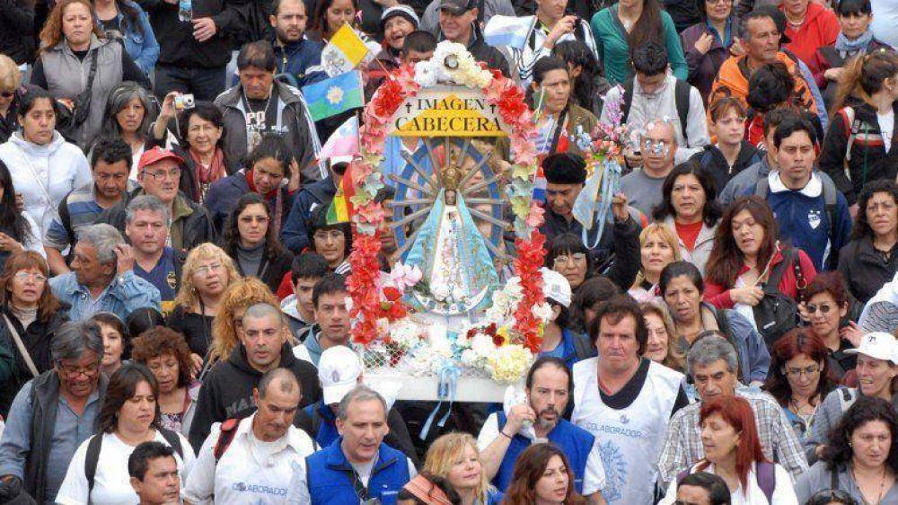 Miles de fieles celebraron en Luján