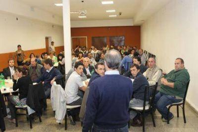 """Mario Bracciale: """"Necesitamos equilibrar el Concejo Deliberante, no para impedir, sino para debatir"""""""