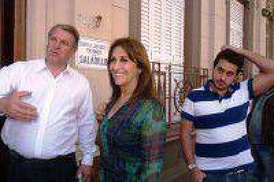 Mirta Tundis en Saladillo: el 82% móvil es una mentira