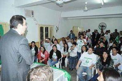 El Frente Cívico prosigue con los encuentros políticos en La Banda