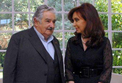 """Mujica expresó su """"cariño personal"""" por la """"terca"""" Cristina"""